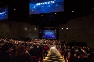 Elon Musk presentation at Adelaide Convention Centre